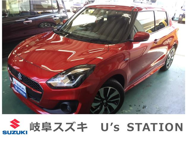 スズキ HYBRID RS DセンサーブレーキSLED新車保証継承