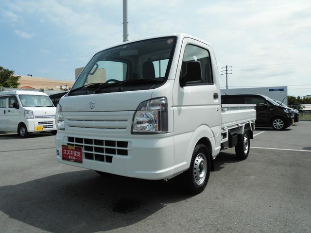 沖縄の中古車 スズキ キャリイトラック 車両価格 86万円 リ済別 2019(令和1)年 0.5万km ホワイト