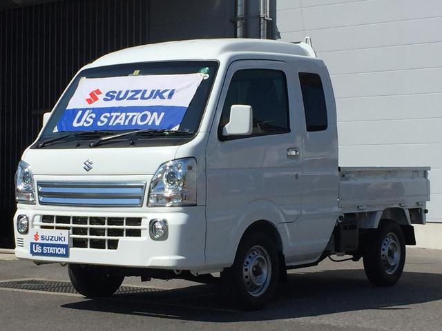 スズキ スーパーキャリイ X 4WD 5MT フォグランプ 付き