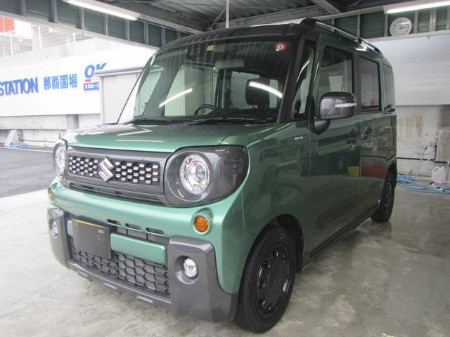 沖縄県の中古車ならスペーシアギア ギア HYBRID XZターボ