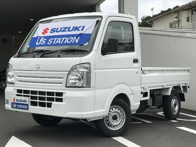 スズキ KCエアコンパワステ 3型 5速マニュアル 4WD ラジオ