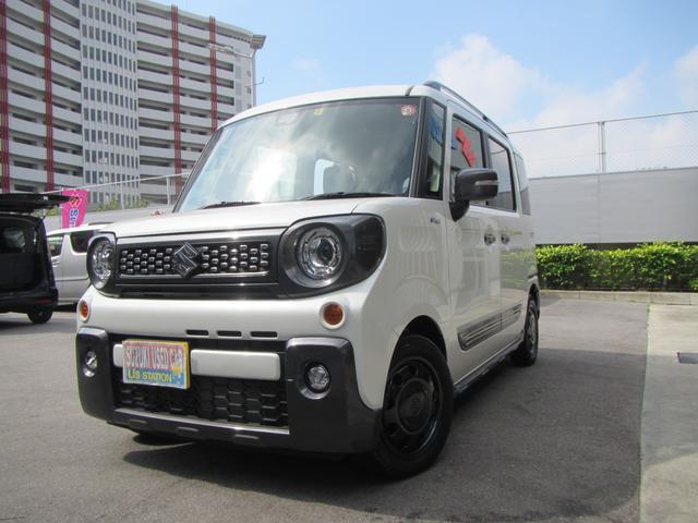 沖縄県浦添市の中古車ならスペーシアギア ギア HYBRID XZターボ