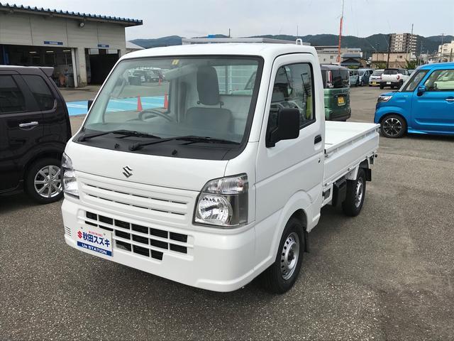スズキ KCエアコンパワステ 3AT パートタイム4WD  ラジオ付