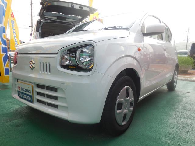 沖縄の中古車 スズキ アルト 車両価格 89万円 リ済別 2019(令和1)年 0.3万km ホワイト