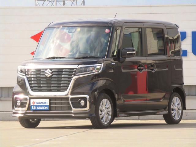 スズキ スペーシアカスタム カスタム HYBRID GS ブレーキサポート 新車保証