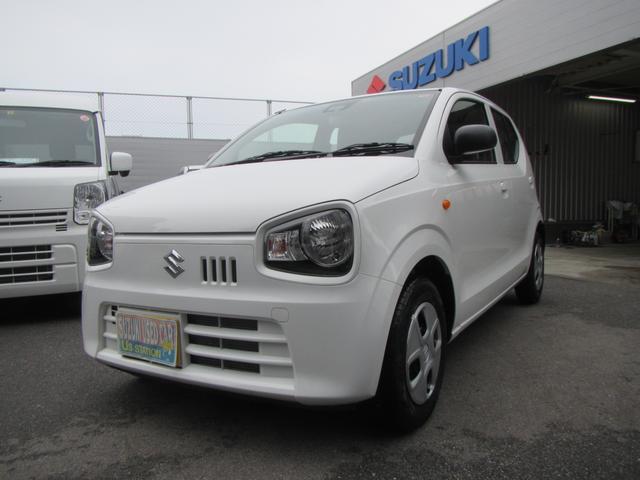 沖縄の中古車 スズキ アルト 車両価格 79万円 リ済別 2019(令和1)年 0.2万km ホワイト