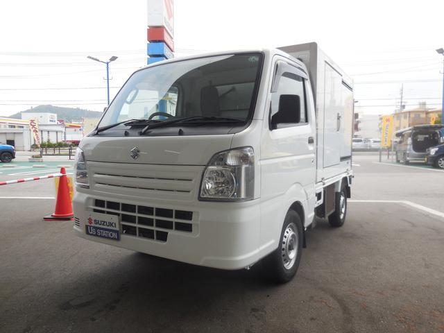 沖縄の中古車 スズキ キャリイトラック 車両価格 158万円 リ済別 2018(平成30)年 2.0万km ホワイト