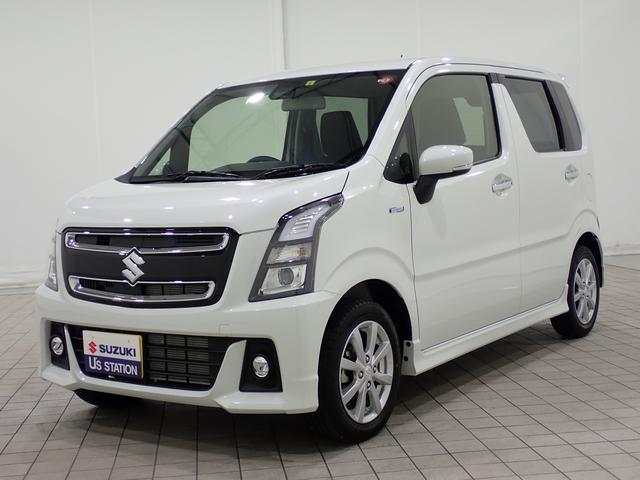スズキ ハイブリットX 走行3,000キロ台 当社指定ナビサービス!