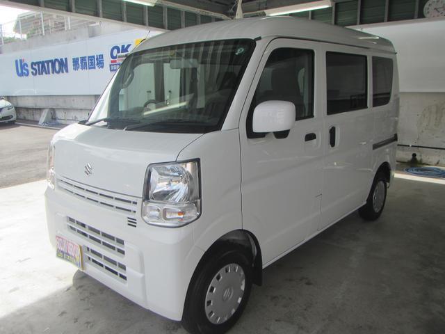 沖縄の中古車 スズキ エブリイ 車両価格 106万円 リ済別 2019(令和1)年 0.9万km ホワイト