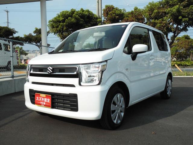 沖縄の中古車 スズキ ワゴンR 車両価格 90万円 リ済別 2019(令和1)年 0.9万km ホワイト