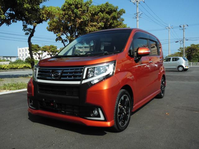 沖縄の中古車 ダイハツ ムーヴ 車両価格 85万円 リ済別 2015(平成27)年 5.4万km オレンジ