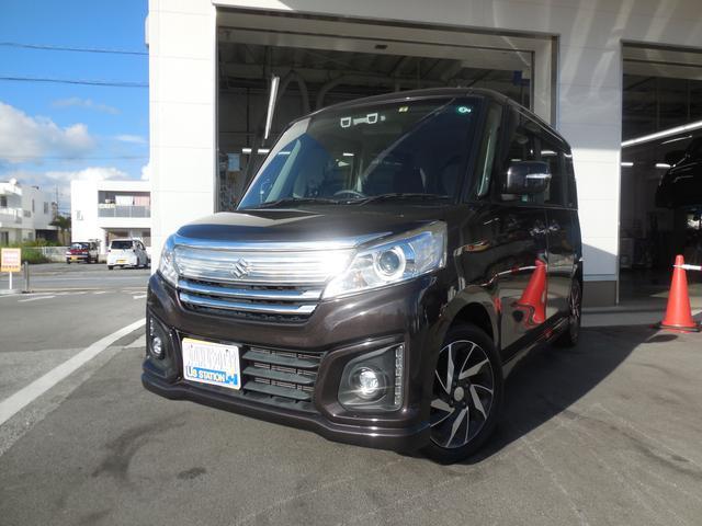 沖縄県島尻郡与那原町の中古車ならスペーシアカスタム カスタム XS MK42S 2型