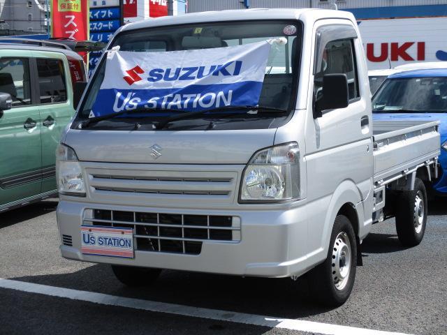 スズキ キャリイトラック KC エアコン・パワステ  オートマチック車