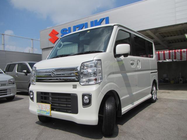 沖縄県浦添市の中古車ならエブリイワゴン PZターボ 標準ルーフ 2型