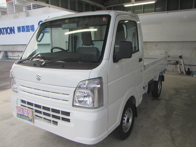 沖縄の中古車 スズキ キャリイトラック 車両価格 94万円 リ済別 2019(令和1)年 0.1万km ホワイト