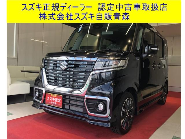 スズキ カスタム HYBRID XSターボ 4WD 衝突被害軽減S
