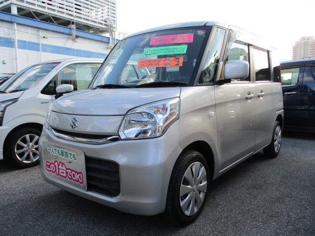 沖縄県中頭郡北谷町の中古車ならスペーシア G MK42S 2型