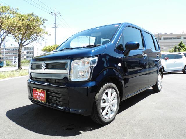 ワゴンR(沖縄 中古車) 色:ノクターンブルーパール 価格:113万円 年式:2019(令和1)年 走行距離:0.4万km