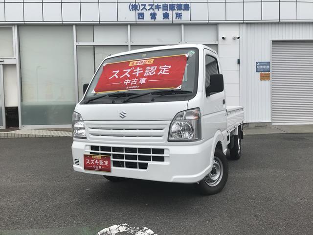スズキ キャリイトラック KCエアコンパワステ 4型 4WD 5MT ラジオ