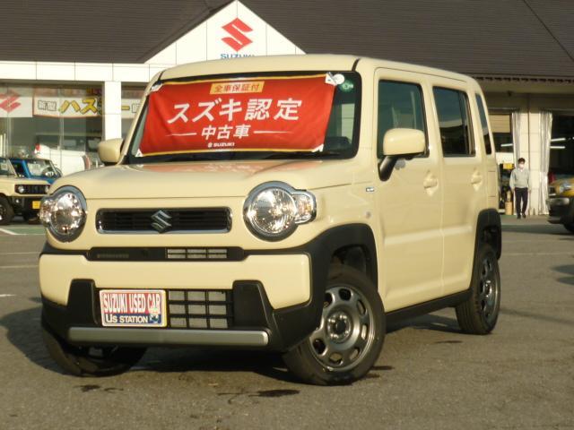 スズキ ハスラー HYBRID G ナビ付 4WD