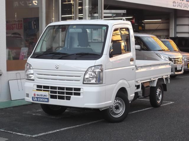 スズキ キャリイトラック KCエアコンパワステ 3型 5MT パートタイム4WD