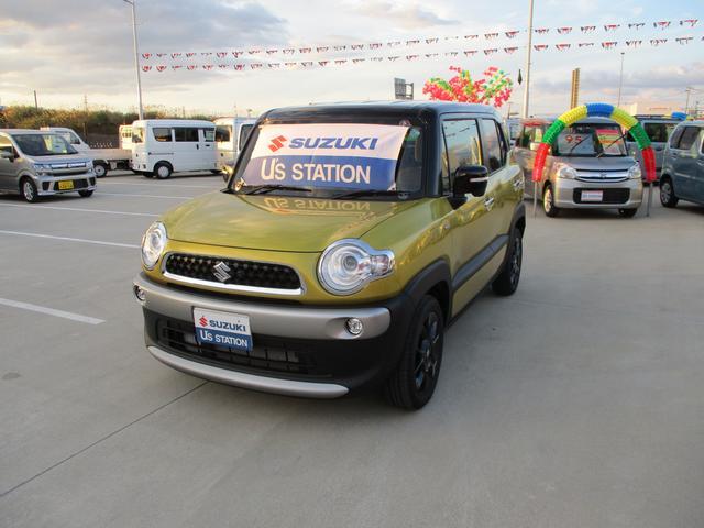 65歳以上の方サポカー補助金対象車です☆2020年3月式人気車クロスビーハイブリットMZ4WD車入荷しました☆