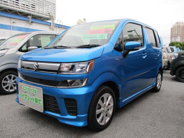 沖縄県の中古車ならワゴンR HYBRID FZ