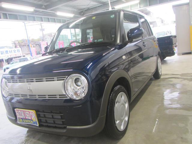 沖縄の中古車 スズキ アルトラパン 車両価格 113万円 リ済別 2020(令和2)年 0.3万km ノクターンブルーパール