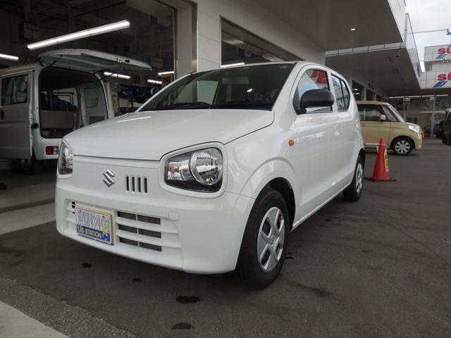沖縄の中古車 スズキ アルト 車両価格 79万円 リ済別 2019(令和1)年 1.1万km ホワイト