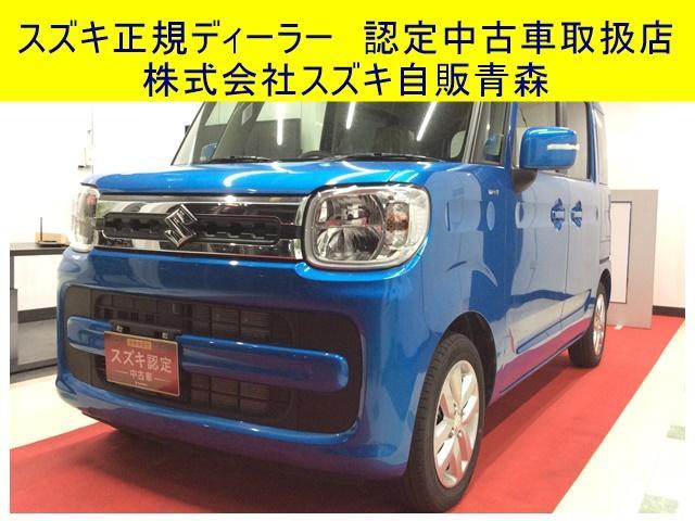 スズキ HYBRID X 4WD CVT 両側電動スライドドア