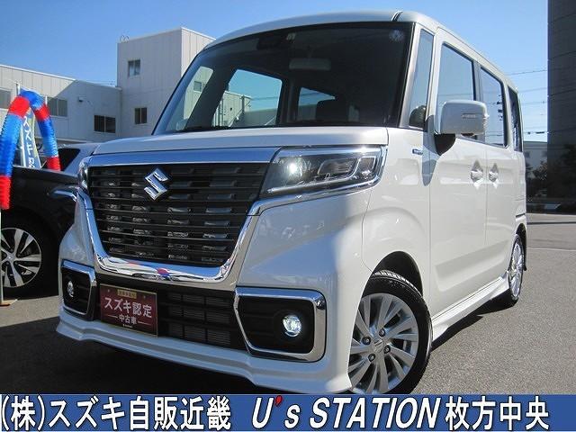 スズキ カスタム HYBRID GS 衝突軽減ブレーキ/