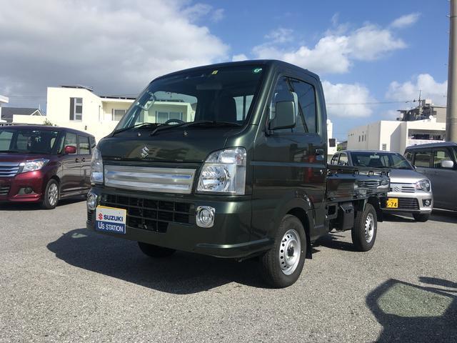 沖縄県中頭郡北谷町の中古車ならキャリイトラック KX 4型