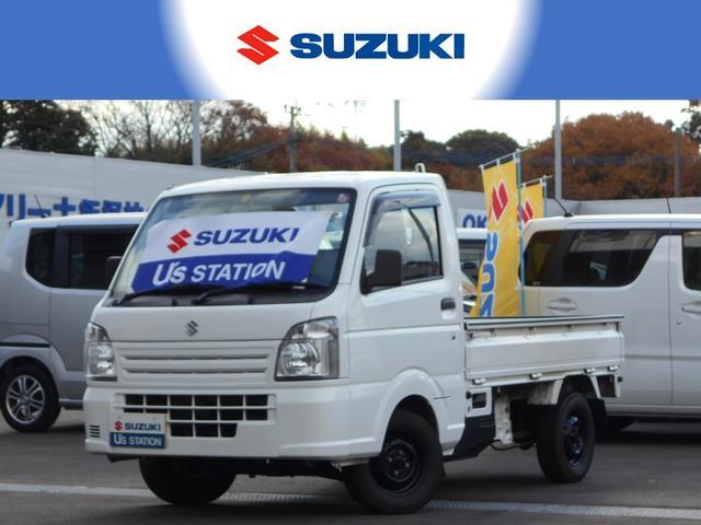 スズキ KC エアコン・パワステ パートタイム4WD 3速AT車