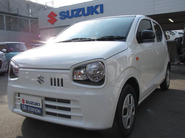 沖縄の中古車 スズキ アルト 車両価格 79万円 リ済別 2020(令和2)年 0.3万km ホワイト
