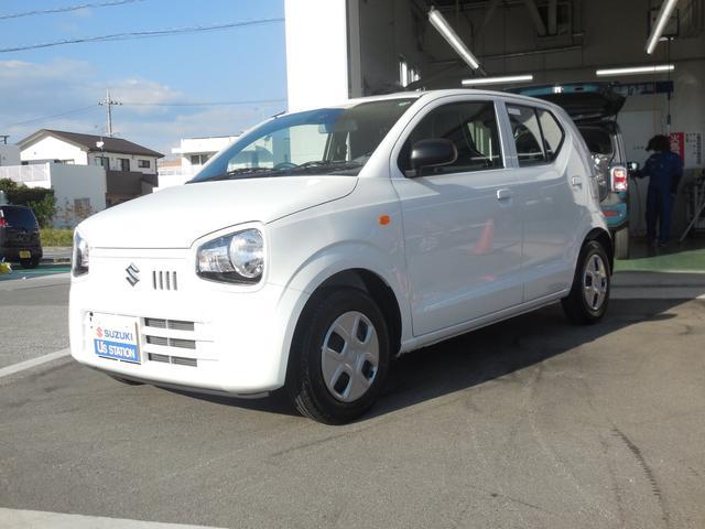 沖縄の中古車 スズキ アルト 車両価格 76万円 リ済別 2020(令和2)年 0.4万km ホワイト