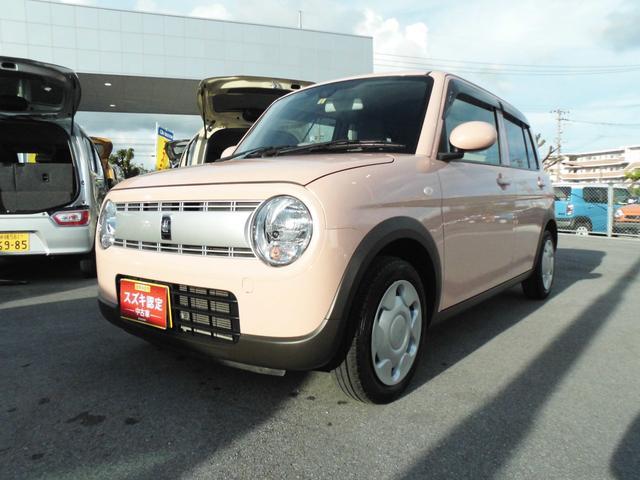 沖縄県うるま市の中古車ならアルトラパン L 衝突被害軽減B プッシュスタート CD/USB/BT付