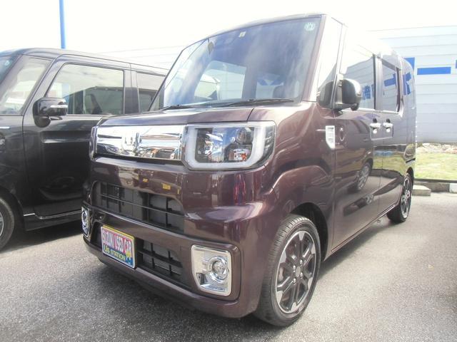 沖縄の中古車 ダイハツ ウェイク 車両価格 163万円 リ済別 2020(令和2)年 0.3万km ブラウン