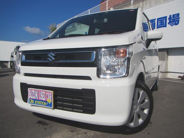 沖縄の中古車 スズキ ワゴンR 車両価格 107万円 リ済別 2020(令和2)年 0.6万km ホワイト(内装色変更)