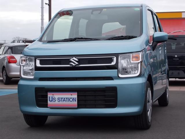 スズキ HYBRID FX 元社用車 サポカー シートヒーター