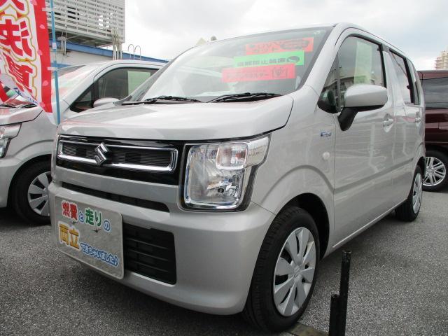 沖縄県の中古車ならワゴンR HYBRID FX