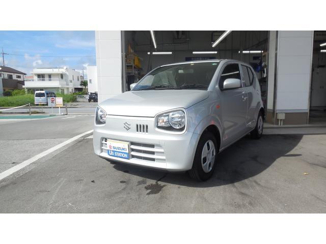 沖縄の中古車 スズキ アルト 車両価格 85万円 リ済別 2020(令和2)年 0.5万km シルキーシルバーメタリック