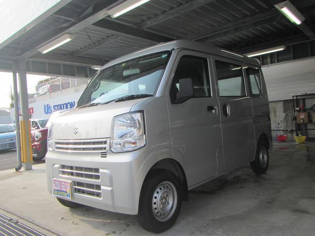 沖縄の中古車 スズキ エブリイ 車両価格 97万円 リ済別 2020(令和2)年 0.4万km シルキーシルバーメタリック