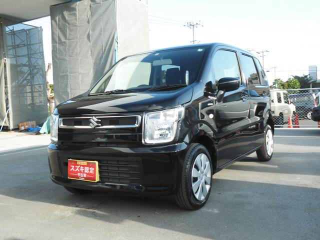 沖縄県うるま市の中古車ならワゴンR HYBRID FX 限定価格 後席アンブレラホルダー付