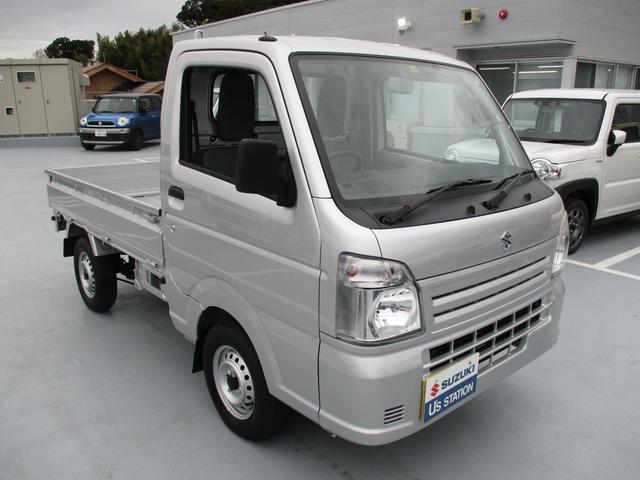 スズキ キャリイトラック KCエアコンパワステ 4型 パートタイム4WD 5MT