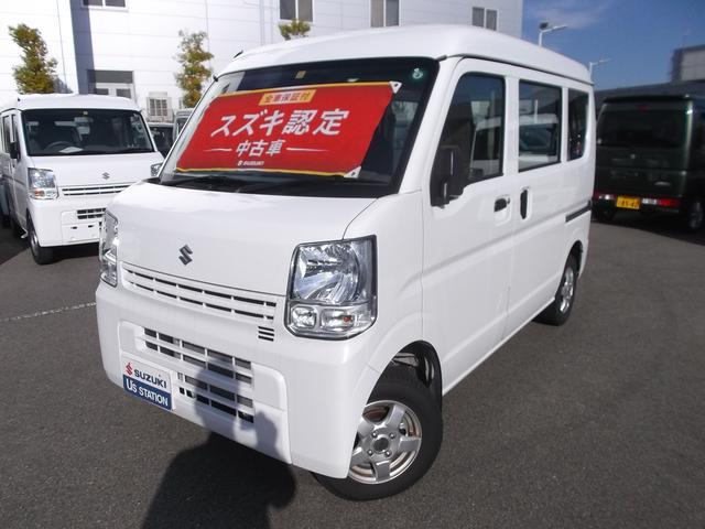 スズキ PA 3型 4WD 4速AT スタッドレスタイヤ付き ESC