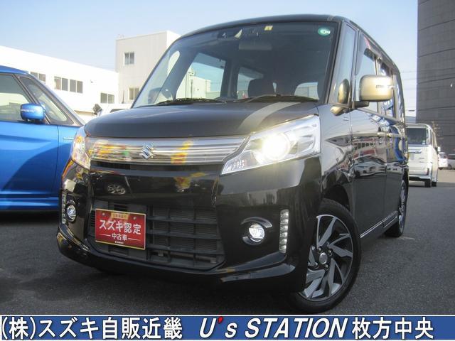 スズキ カスタムJ STYLE ナビTV/ETC/衝突軽減ブレーキ/