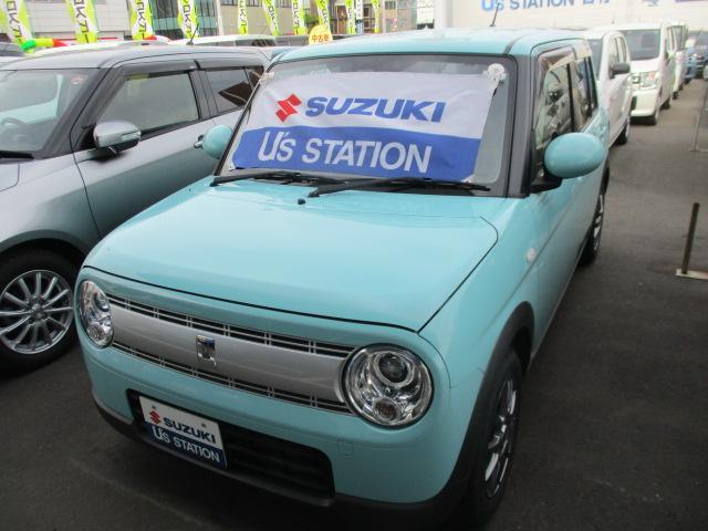 スズキ アルトラパン S カーナビ レーダーブレーキサポート