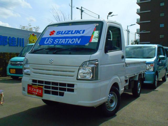 スズキ キャリイトラック KCエアコンパワステ 4型 パートタイム4WD エアバッグ