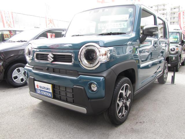 沖縄県浦添市の中古車ならハスラー HYBRID Xターボ
