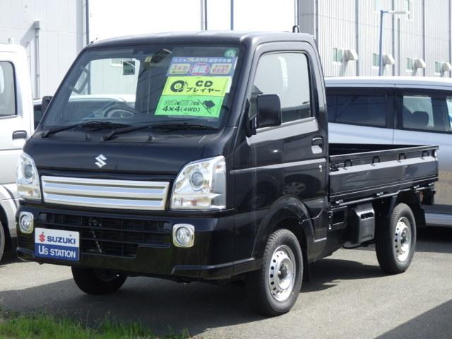 スズキ キャリイトラック KX 4型 自動(被害軽減)ブレーキ HID CDステレオ